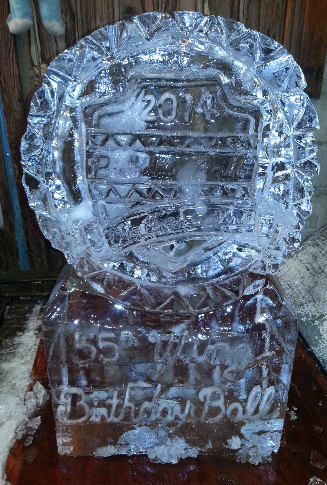 Chevy Logo Blue >> Muzzy Ice Service - Ice Sculptures / Ice Carvings for Weddings, Anniversaries, and Special Events