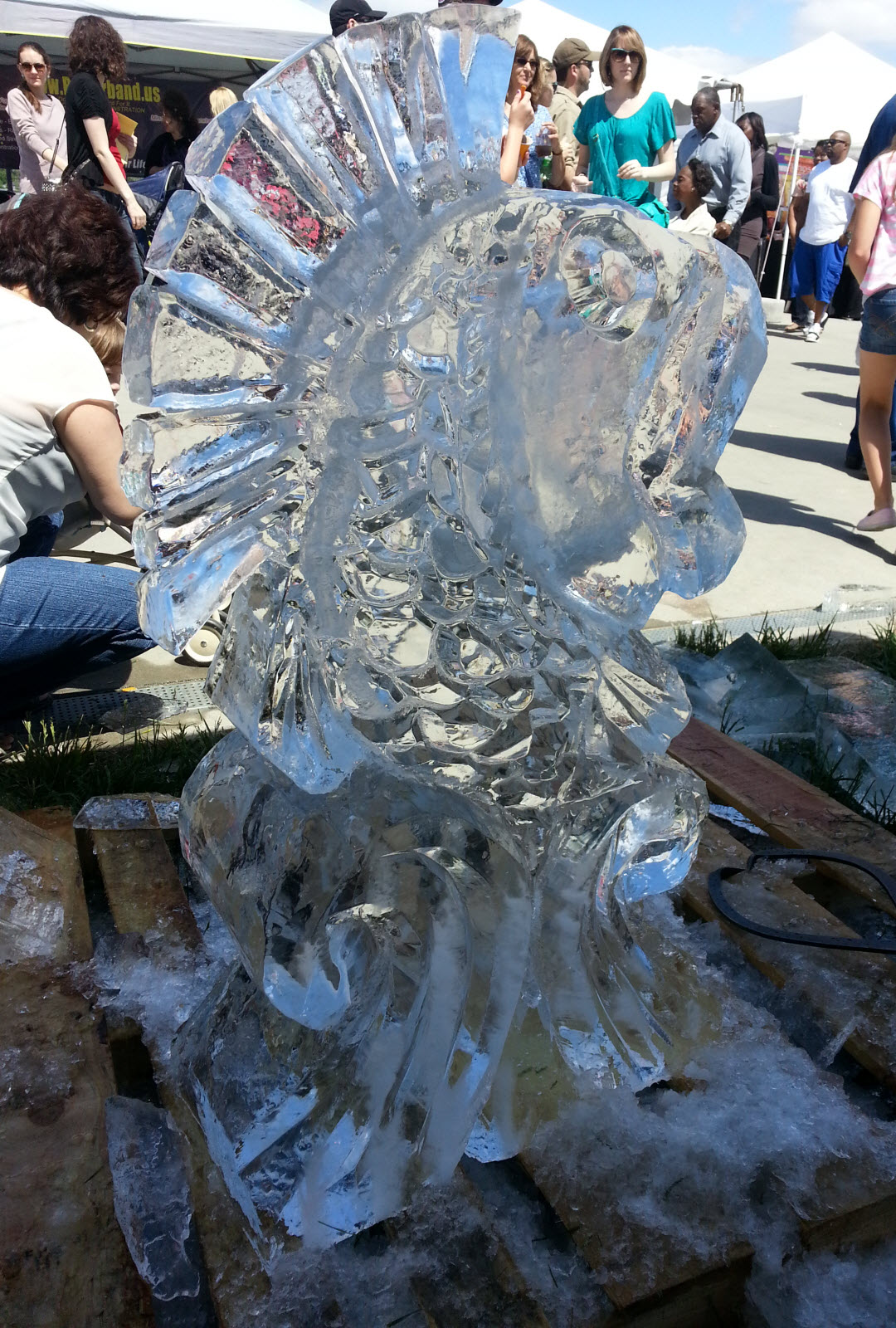 Centurylink Phone Service >> Muzzy Ice Service - Ice Sculptures / Ice Carvings for ...